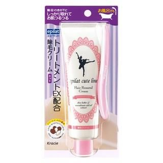 Kracie - Kracie Epilat Hair Removal Cream (Citrus) (Pink) 135g 1022812433