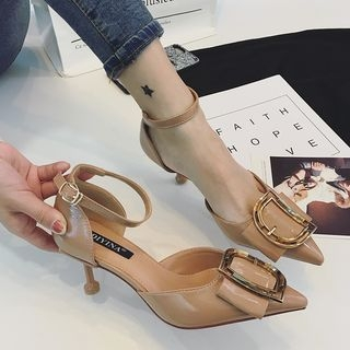 Buckled Ankle Strap Pumps 1064950647