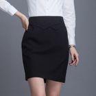 Mini Pencil Skirt 1596