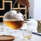 Glass Teapot / Set of 5: Teapot + Cup 1596