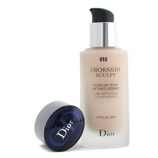 Buy Christian Dior – Diorskin Sculpt Line Smoothing Lifting Makeup SPF20 # 010 Ivory
