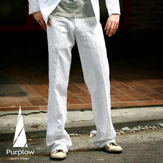 Picture of Purplow Straight Leg Pants 1004889656 (Purplow, Mens Pants, Korea)