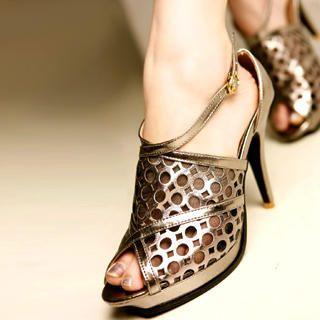 Picture of Kvoll Cute-Out Platform Pumps 1022653682 (Pump Shoes, Kvoll Shoes, China Shoes, Womens Shoes, Womens Pump Shoes)
