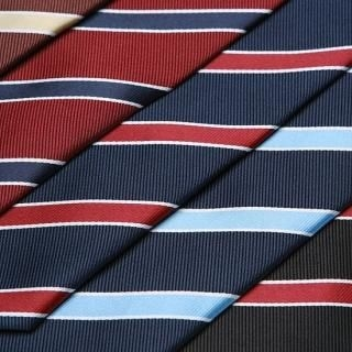 Picture of Style YOURS Bias Stripe Neck-Tie 1022097469 (Style YOURS, Mens Hats & Scarves, Korea)