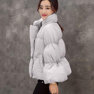 Stand-Collar Puffer Jacket