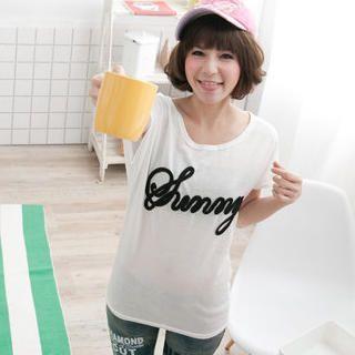 Buy ZOO Short-Sleeve Print T-Shirt 1023014140