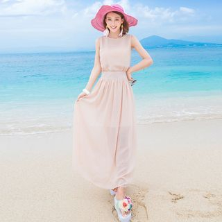 Sleeveless Maxi Dress 1049723763