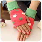 Dotted Fingerless Mittens от YesStyle.com INT