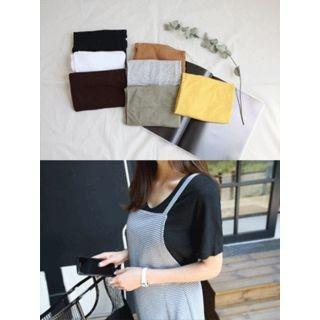 V-Neck Short-Sleeve T-Shirt 1060306084