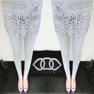 maternity-lace-inset-leggings
