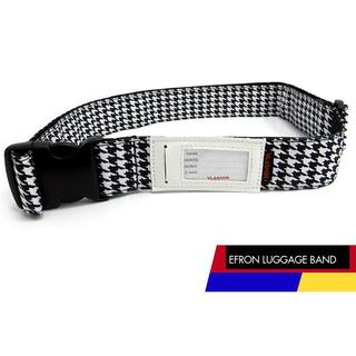 Houndstooth Luggage Band One Size