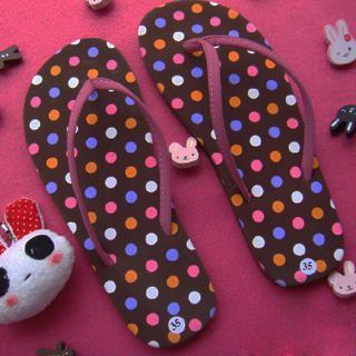 Buy SHY SHY Polka Dot Print Sandals 1022852955