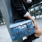 Buckled Flap Satchel