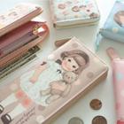 """Paper Doll Mate"""" Series Zip Wallet 1596"""