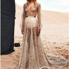 Sequined Maxi Dress 1596