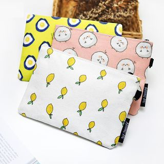 Image of Print Canvas Pouch