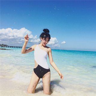 Color-Block Swimsuit 1064347843