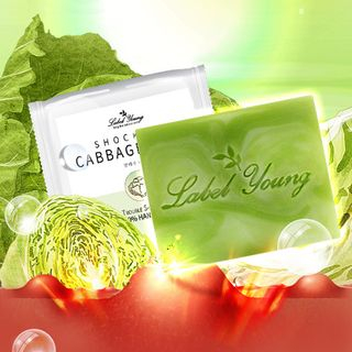 Label Young - Shocking Cabbage Soap 100g 100g 1058573048