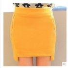 Side Zip Pencil Skirt 1596