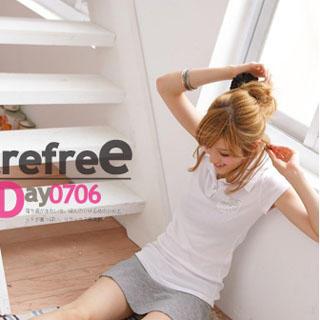 Picture of 2kilo Short-Sleeve Polo Shirt 1022776581 (2kilo Tees, Womens Tees, Taiwan Tees, Polo Shirts)
