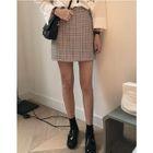 Check Mini Skirt 1596