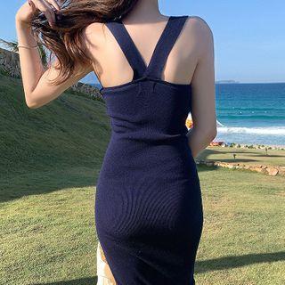 Sleeveless | Sapphire | Dress | Blue | Size | One
