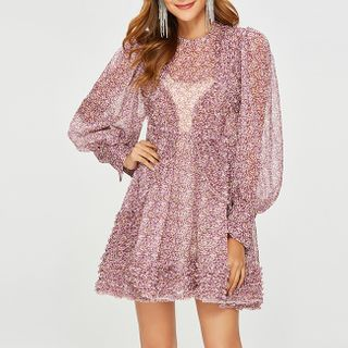 Chiffon | Floral | Dress | Print | Mini