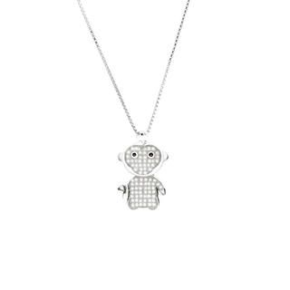 12 Zodiac Collection - Happy Monkey With Necklace Happy Monkey - One Size