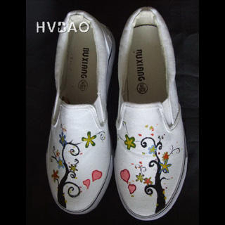 Picture of HVBAO Tree of Love Slip-Ons 1020381830 (Slip-On Shoes, HVBAO Shoes, Taiwan Shoes, Womens Shoes, Womens Slip-On Shoes)
