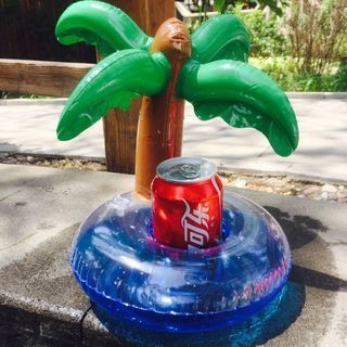 Coconut Palm Floating Cup Holder 1062803966