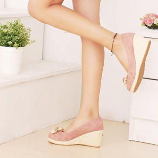 Buy KAWO Bow-Accent Wedges 1022910326