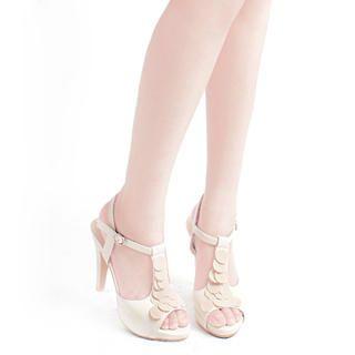 Buy KAWO Petal Platform T-Strap Sandals 1022911082