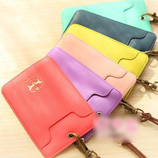 Card Holder with Strap