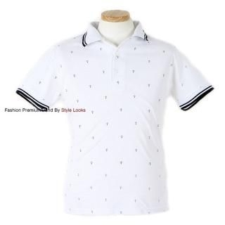 Buy Yellow Jacket Anchor Print Polo 1022467548