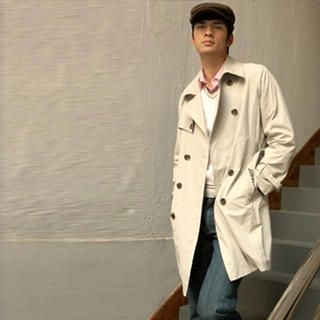 Picture of Justyle Belted Double-Breasted Trench Coat 1021547308 (Justyle, Mens Outerwear, China)