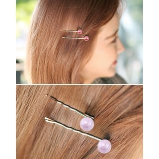 Set of 2: Bead Bobby Hair Pin 1061055294