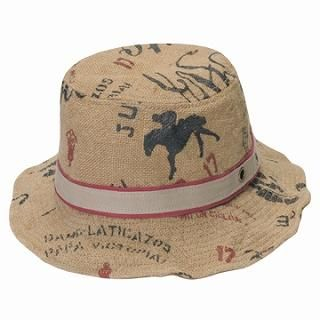Picture of GRACE Printed Bucket Hat Beige - One Size 1022190274 (GRACE, Mens Hats & Scarves, Japan)