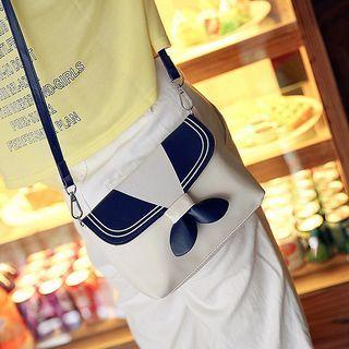 Collar Print Crossbody Bag