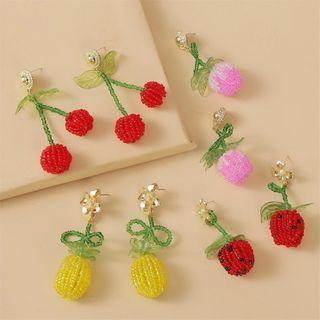 Image of Bead Fruit Dangle Earring