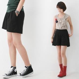 Buy yeomong Linen Blend Shorts 1023059847