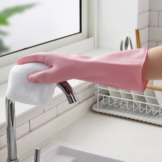 Image of 2-pair Set: Kitchen Cleaning Gloves