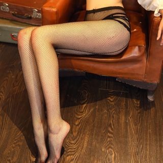 Fishnet | Tight | Black | Size | One
