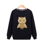 Owl Sweatshirt Men - Gray - 3XL от YesStyle.com INT