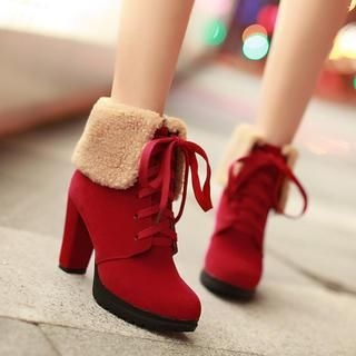Cuffed Ankle Boots