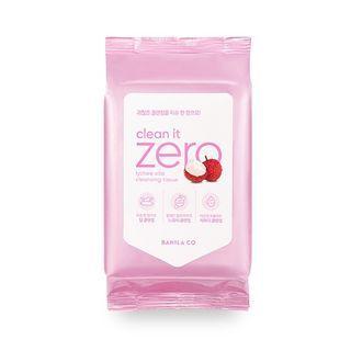Clean It Zero Lychee Vita Cleansing Tissue 80sheets