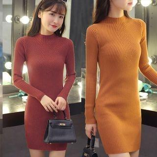 Ribbed Knit Dress 1063151993