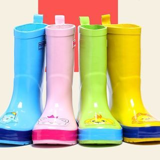Image of Kids Cartoon Mid-Calf Boots