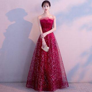 Strapless | Sequin | Dress | Prom