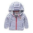 Kids Striped Zip Hoodie 1596