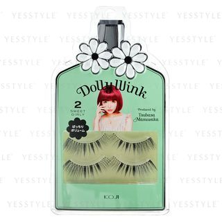 Koji - Dolly Wink Eyelash (#02 Sweet Girly) 2 pairs 1025059877
